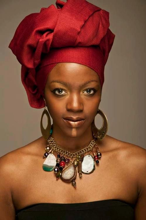 Beautiful Black Woman!! Beautiful Head Wrap | African ... - photo#27