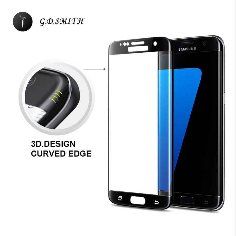 G D Smith 3d Full Cover Tempered Glass Screen Protector For
