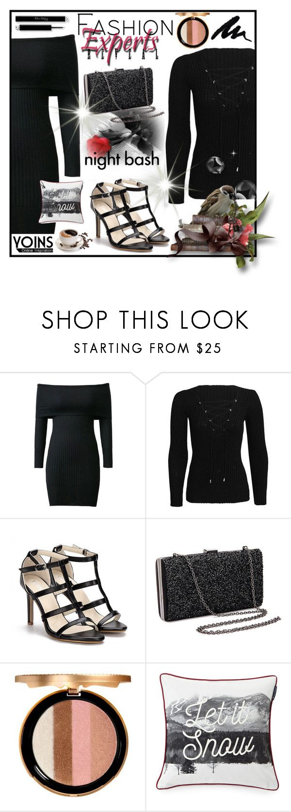 """Yoins 30"" by red-rose-girl ❤ liked on Polyvore featuring Louis Vuitton, Too Faced Cosmetics and Lexington"