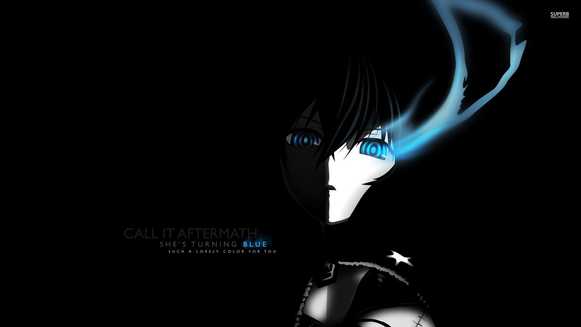 black rock shooter wallpaper | -black rock shooter!- | pinterest