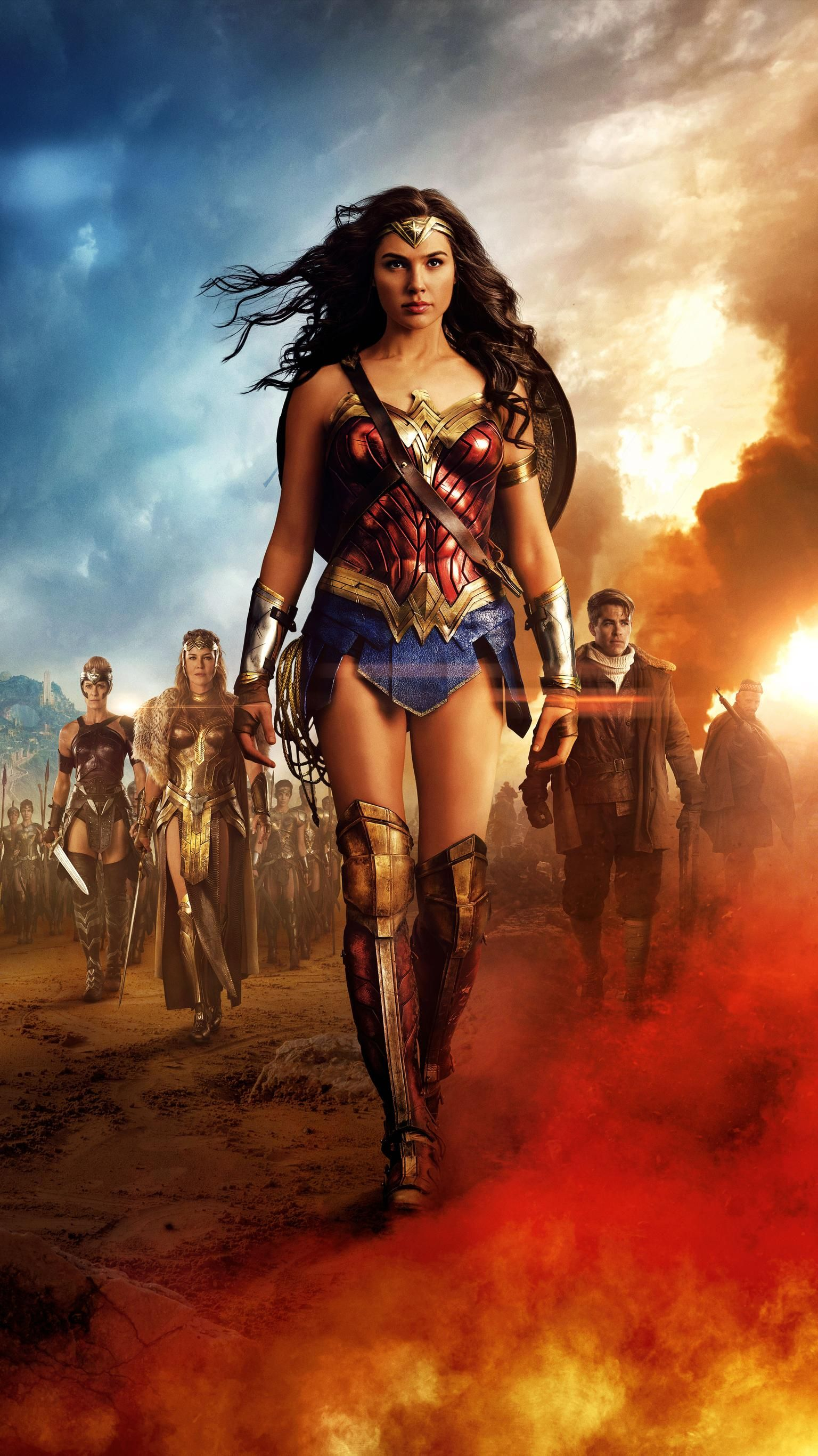 Wonder Woman 2017 Phone Wallpaper Mulher Maravilha Mulher Maravilha Filme Wonder Woman