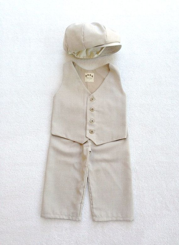Ring Bearer Outfit, Newsboy Set, Vintage Style, Ring Bearer, Ring Boy Outfit, Pageboy outfit, Paperboy outfit, Sand Ring Bearer, Ring Boy