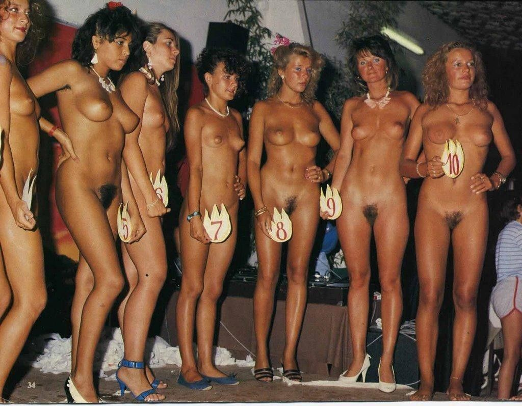 nudist girls pageant Miss USA Nude 1991