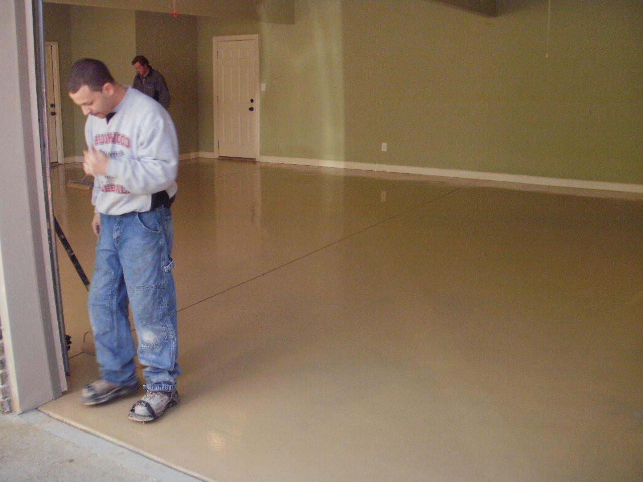 Delightful Garage Floor Epoxy/coating/paint   LotusTalk   The Lotus Cars Community