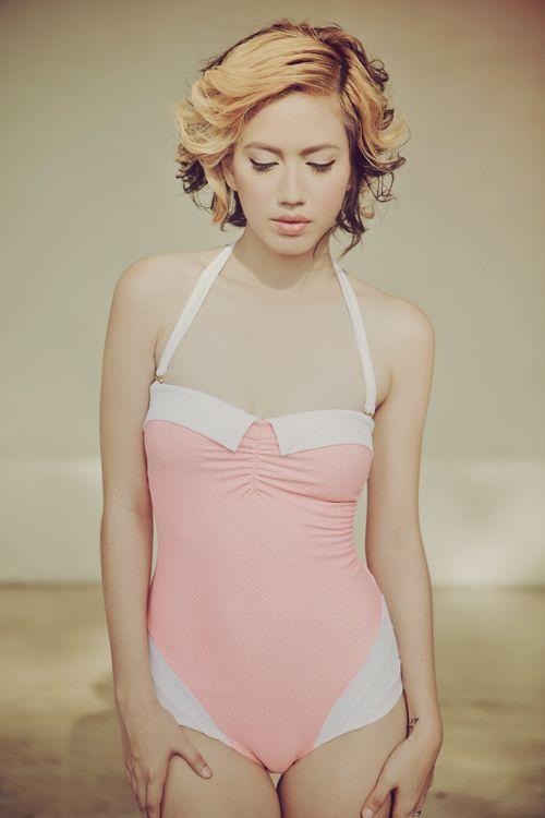 497fe0b87ba7484652790b181e29dbb3 i love koi x tricia gosingtian slumberdoll swimsuits, candy,I Love Swimwear