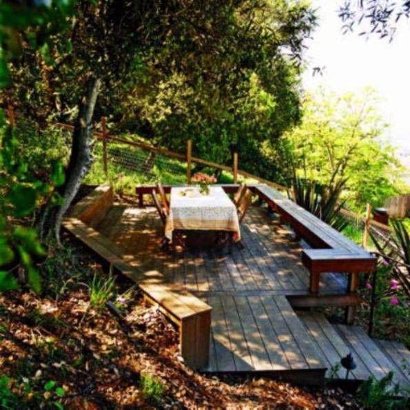 21 Landscaping Ideas For Slopes: 21 Creative Deck Ideas That Inspire Al Fresco Living