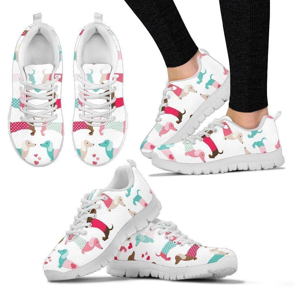Dachshund Women's Sneakers – Women's Sneakers / US9 (EU40)