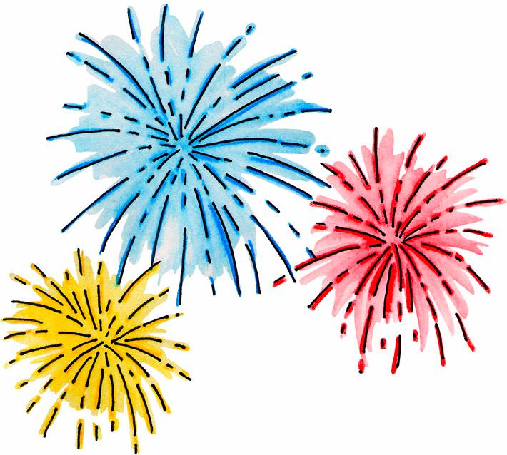 Pin By Courtney Bertsch Martin On Clip Art How To Draw Fireworks Fireworks Clipart Fireworks