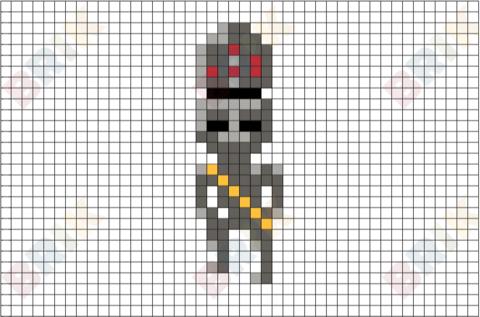 IG-88 Pixel Art