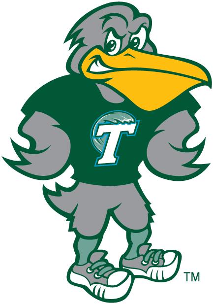 Riptide Tulane Green Wave Mascot College Mascots American Aac