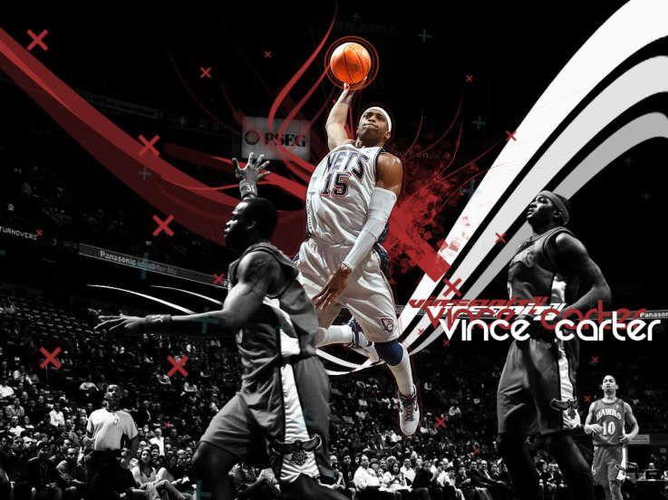 Best Basketball Wallpaper Vince Carter Dunk Wallpapers Sports Sports Basketball Basketball