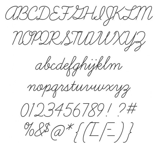 20 Beautiful Script Fonts for Your Designs | Fonts