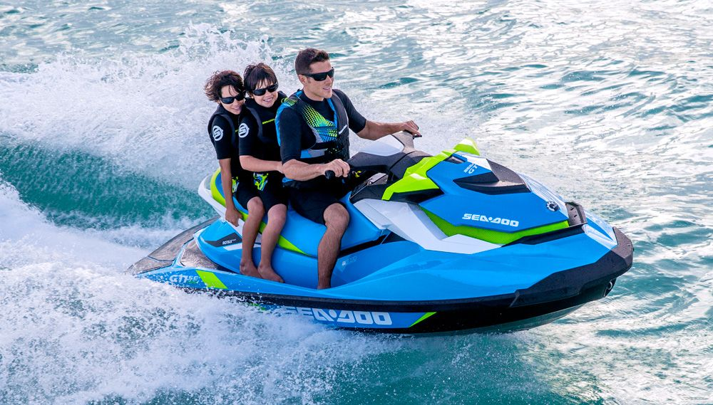 2016 Sea-Doo GTI SE 155 Review | pwc | Skis for sale, Jet ski, Water