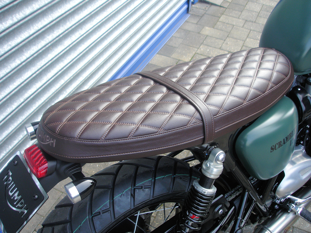 Brown Bench Seat Led Indicators And Tail Tidy Bonni Idea