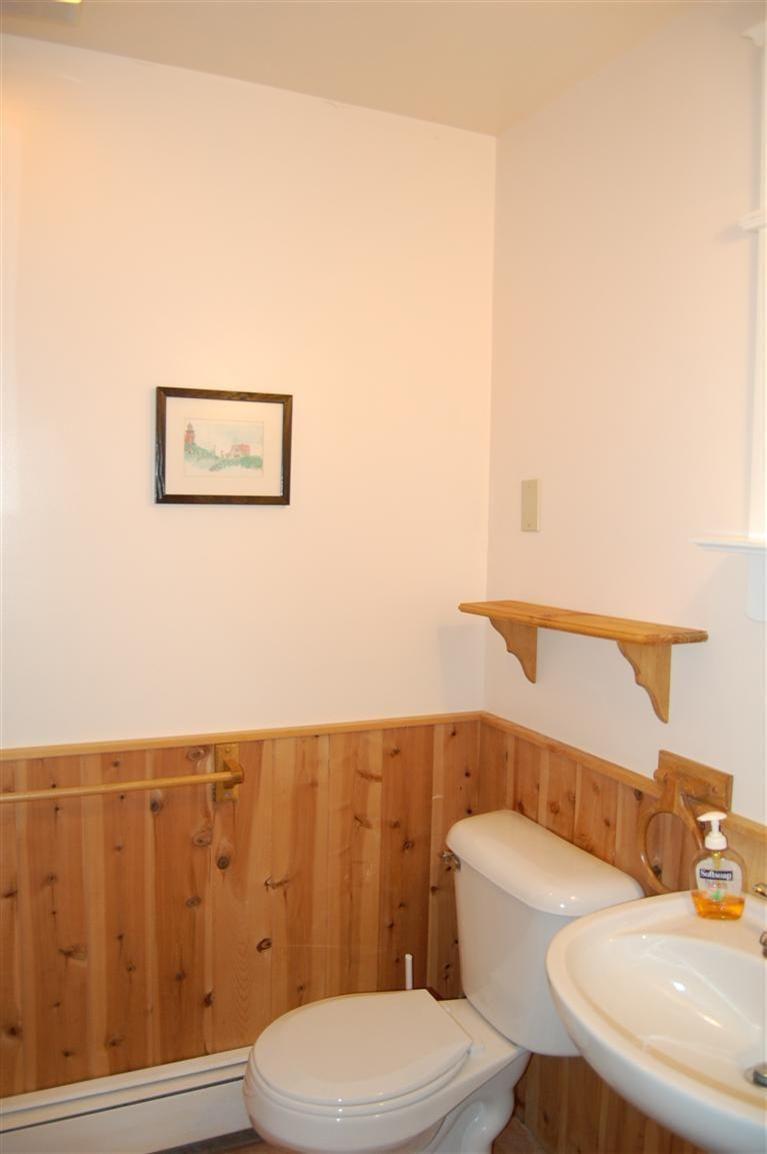 Knotty Pine Bathroom
