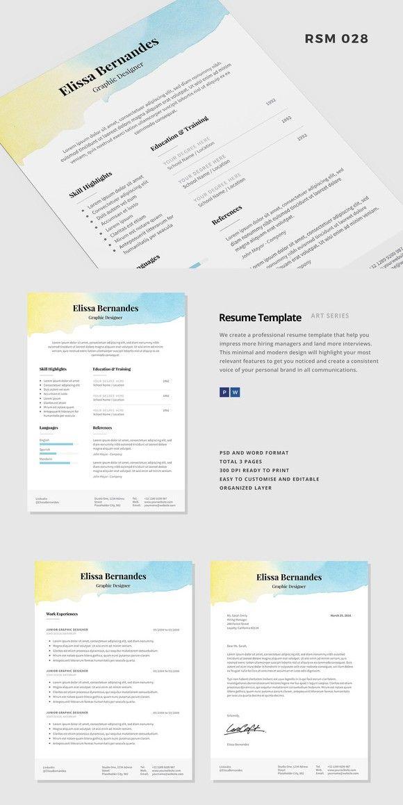 resume template pandora pinterest template