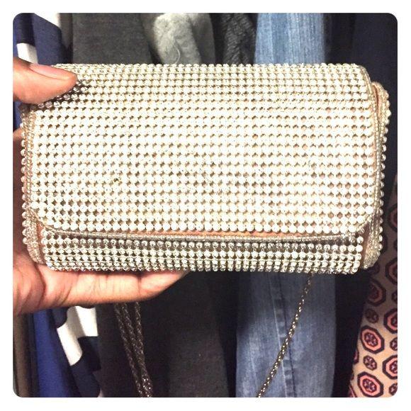 Diamond Cluch Diamond clutch Bags Clutches & Wristlets