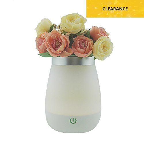 Trusun Night Lamp,Flower Table Lamp with Waterproof LED Atmosphere
