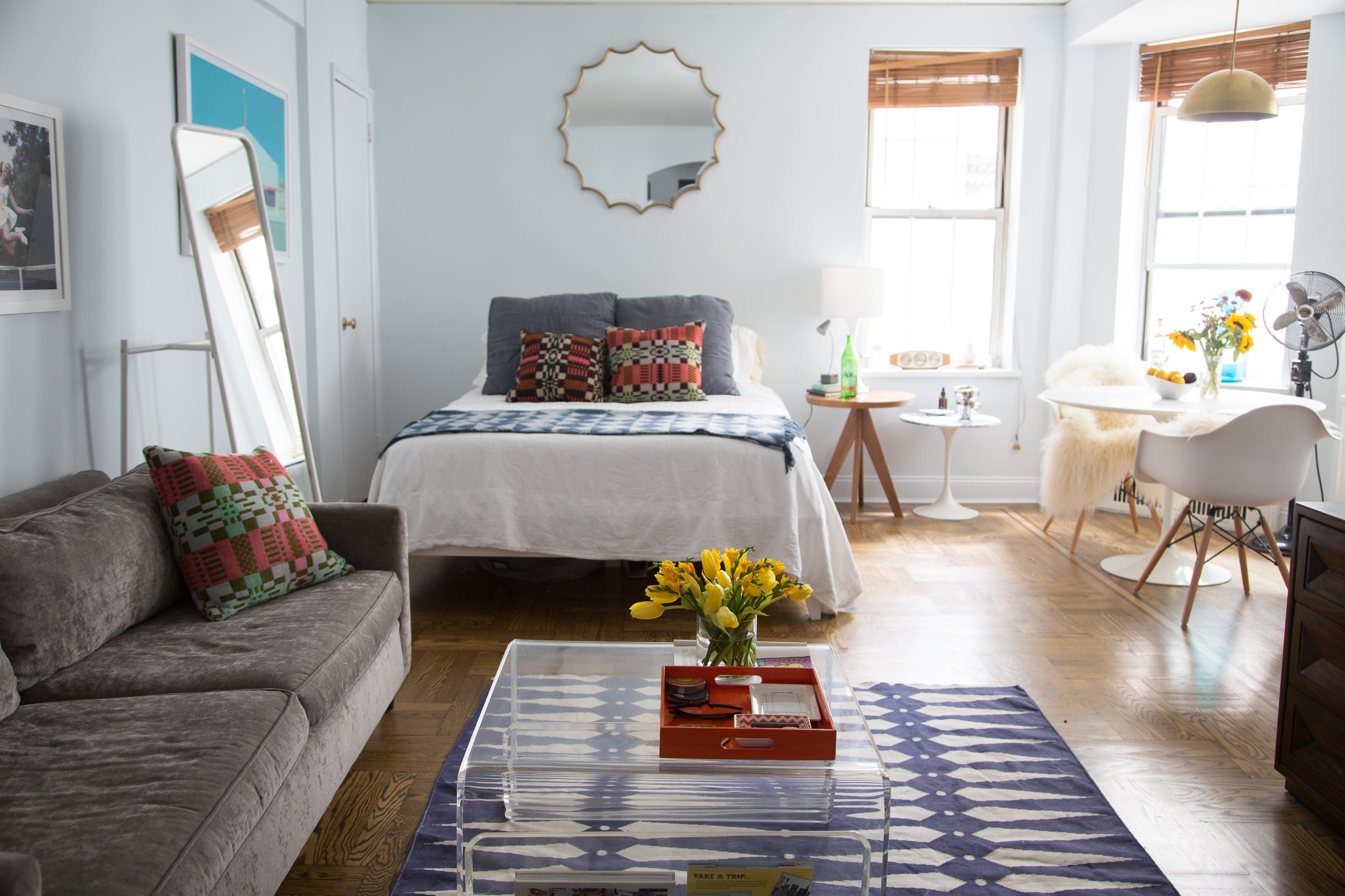 A Colorfully Eclectic 450 Square Foot Studio In Greenwich Vil