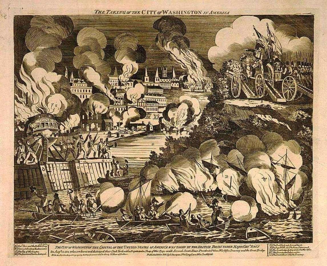 War Of Burning Of Washington City