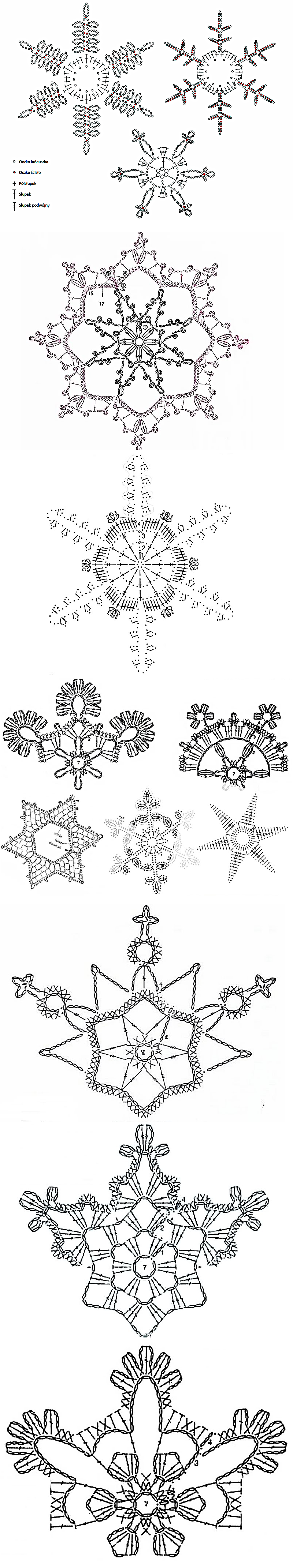 Stylowi.pl - Odkrywaj, kolekcjonuj, inspiruj | Crochet Navidad ...