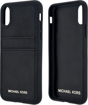 87a9c555749c Michael Kors Saffiano Leather Pocket Case for iPhone X