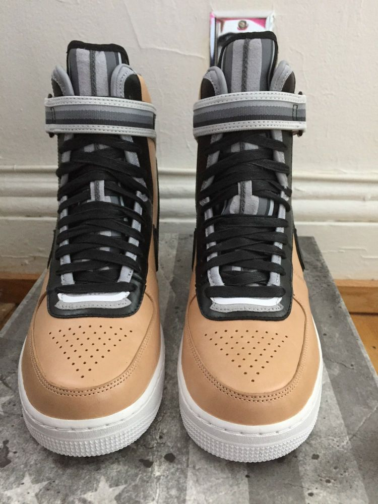 Nike Air Force One 1 HIGH x Riccardo Tisci RT Tan Beige Vanchetta
