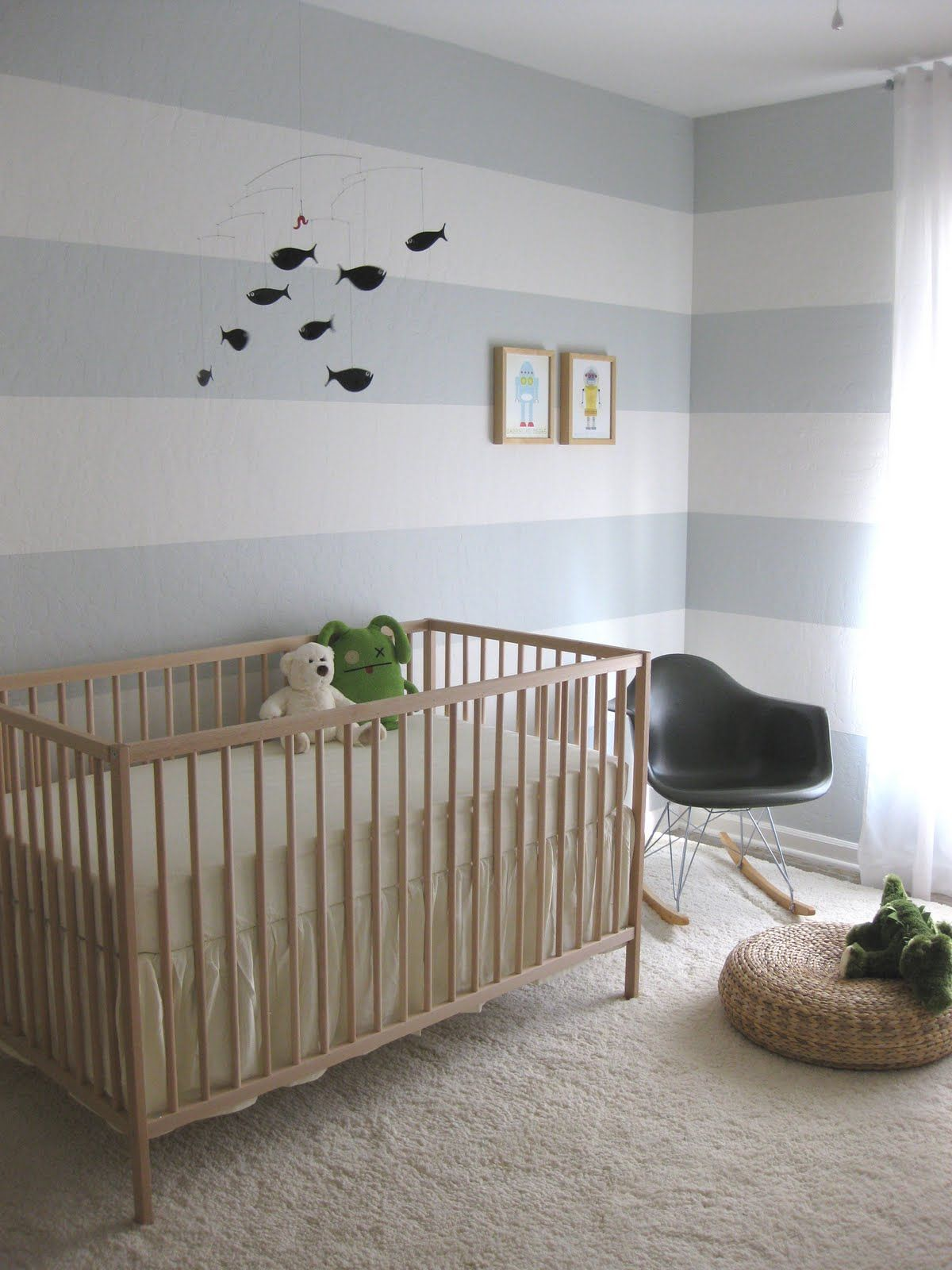 Modern ikea sniglar crib with flowy crib skirt | For the ...