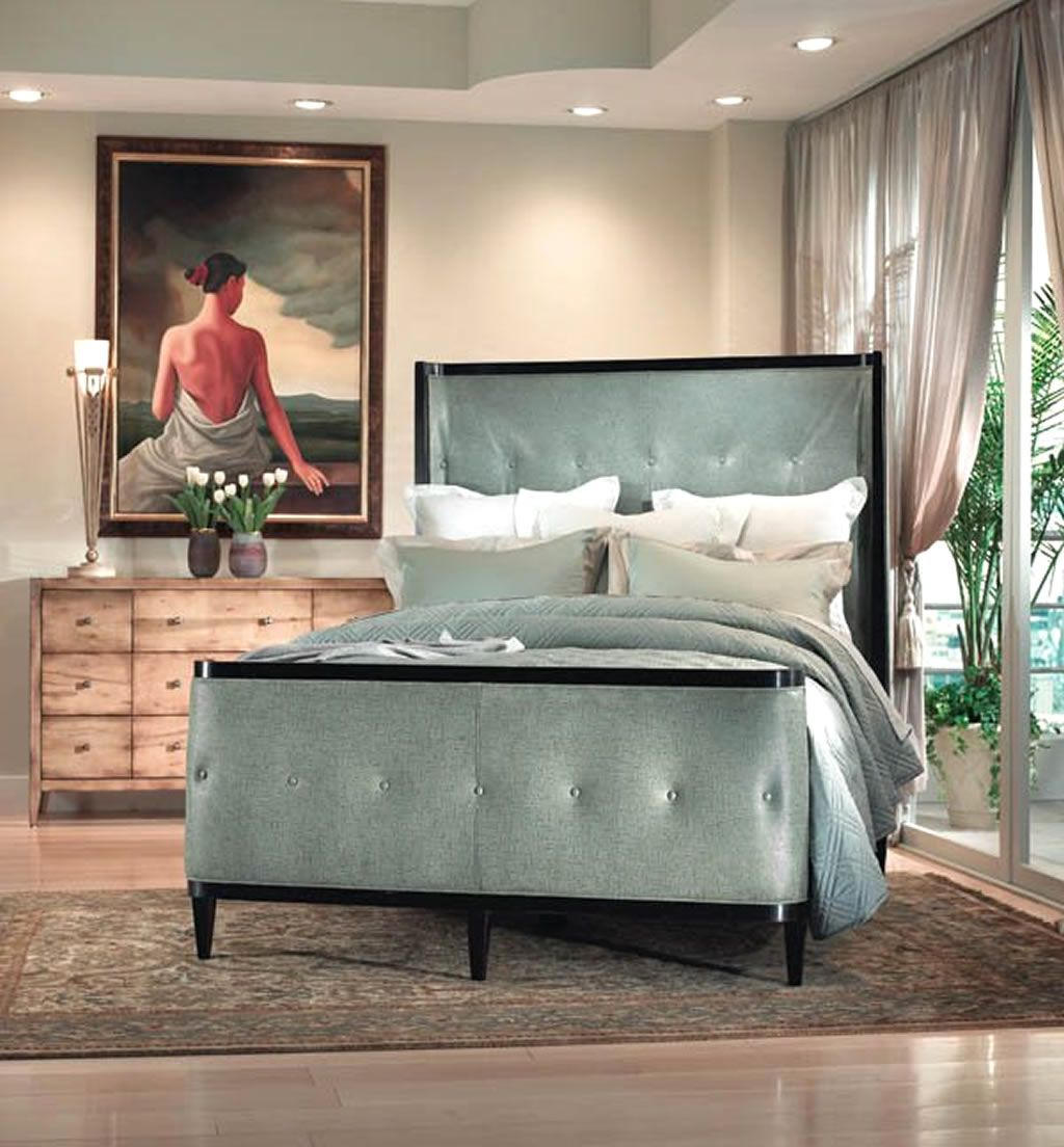 Contemporary bedroom furniture design by swaim high point bedroom