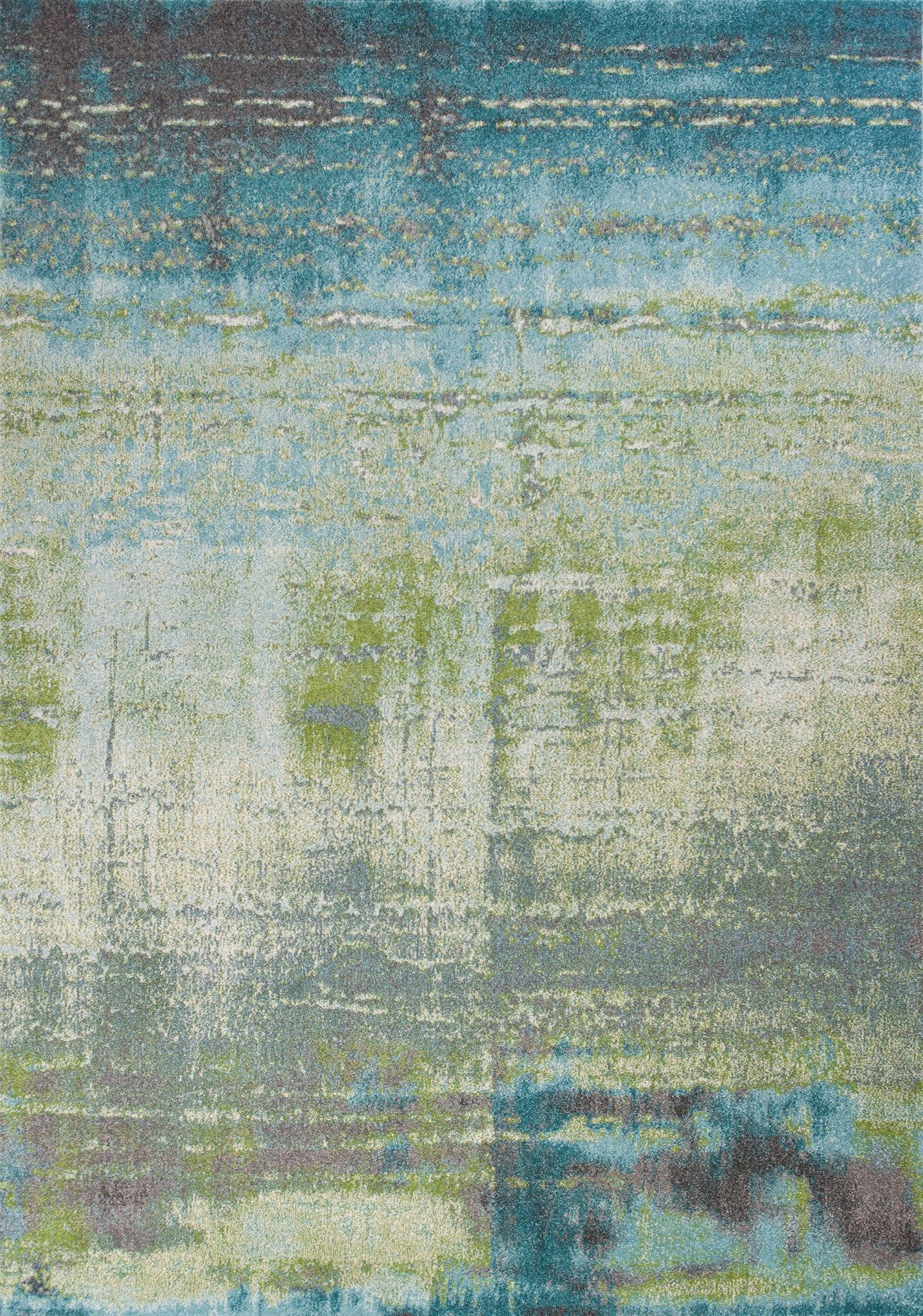 Area Rug Manufactured By Kas Style Illusions 6206 Blue Green