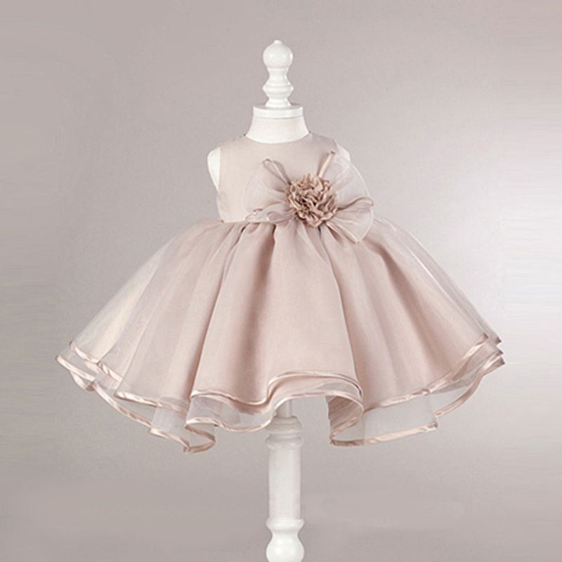 a040840a0a1d8 2017 Summer Girls Clothes Toddler Baby Kids Princess Party Dresses ...