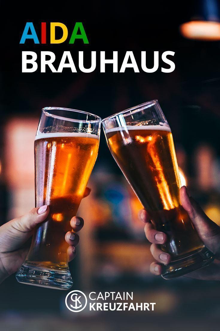 AIDA Brauhaus: Hausbrauerei mit selbstgebrauten Bieren