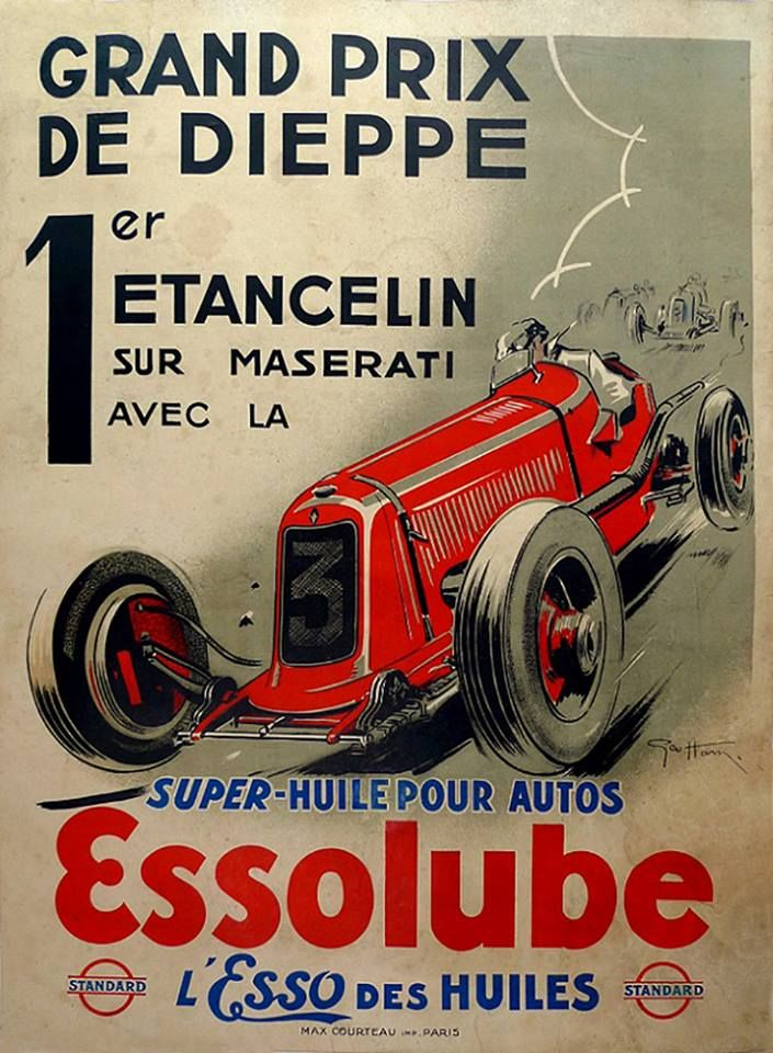 RED BUGATTI FASTEST BEST CAR IN THE WORLD RACE GRAND PRIX VINTAGE POSTER REPRO