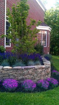 english garden foundation plants