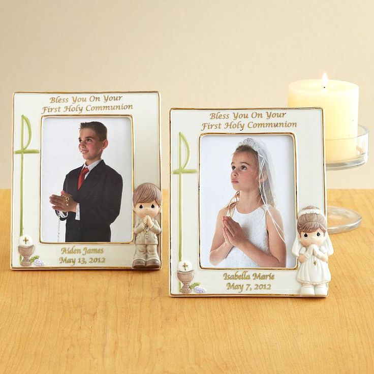 Precious Moments First Holy Communion Frames | Communion, Precious ...