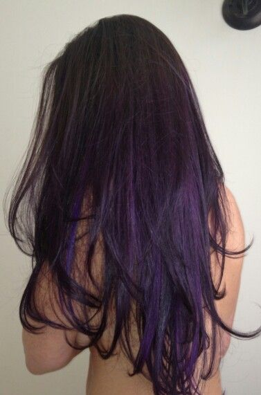 16 Glamorous Purple Hairstyles Hair Hair Purple Hair Ombre Hair