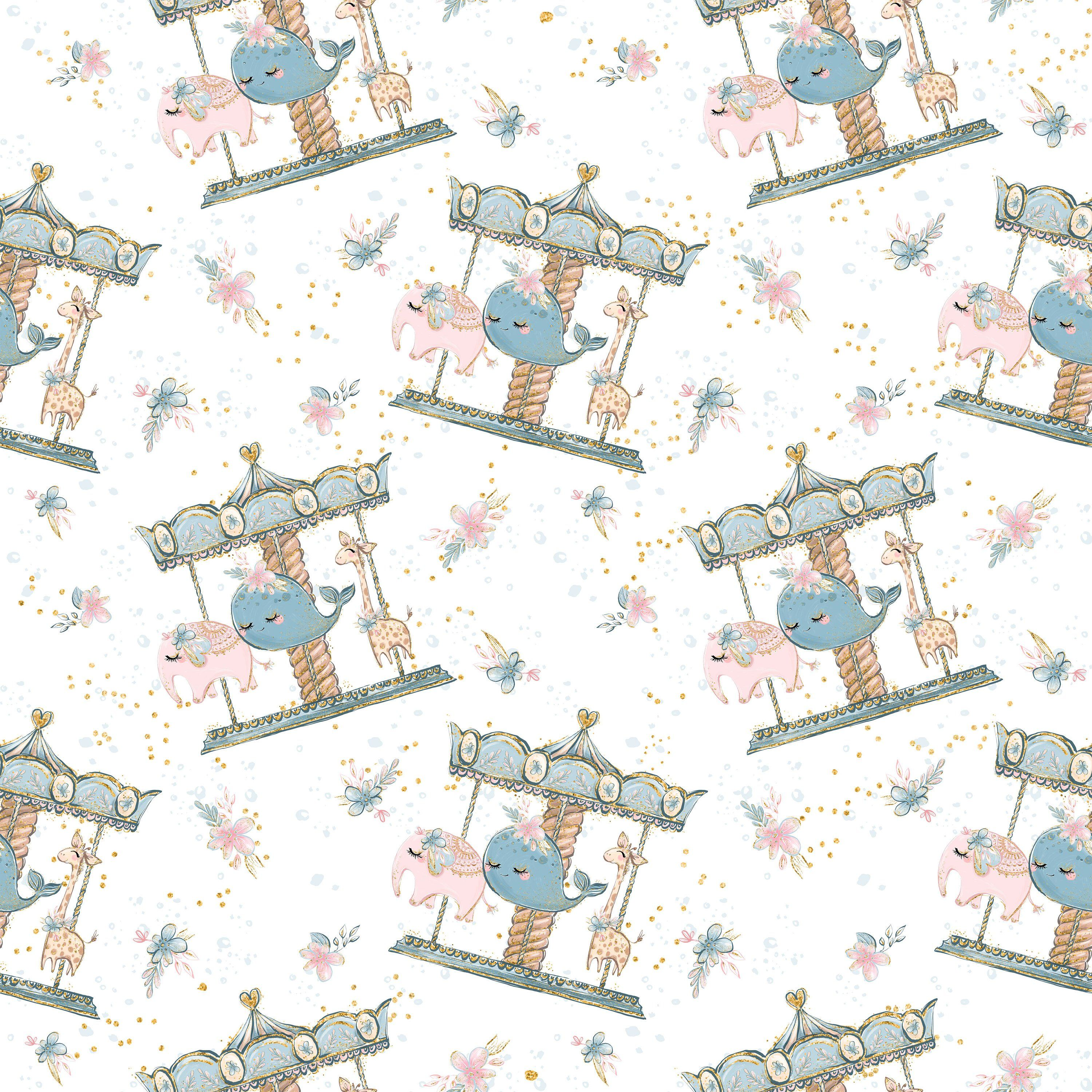 a511844adf7 Mother day fabric, elephant fabric, giraffe fabric, whale fabric, cotton  fabric, knit fabric, fabric by the yard, mother day prints, florals