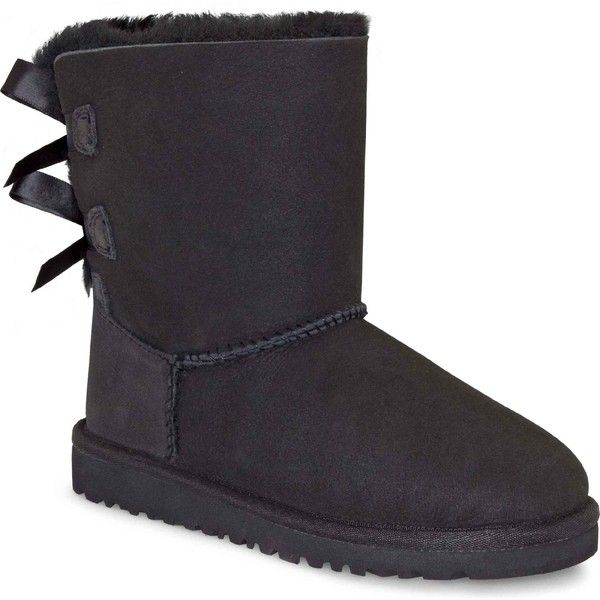 Ugg Australia Bailey Button Womens Ankle Boots Black