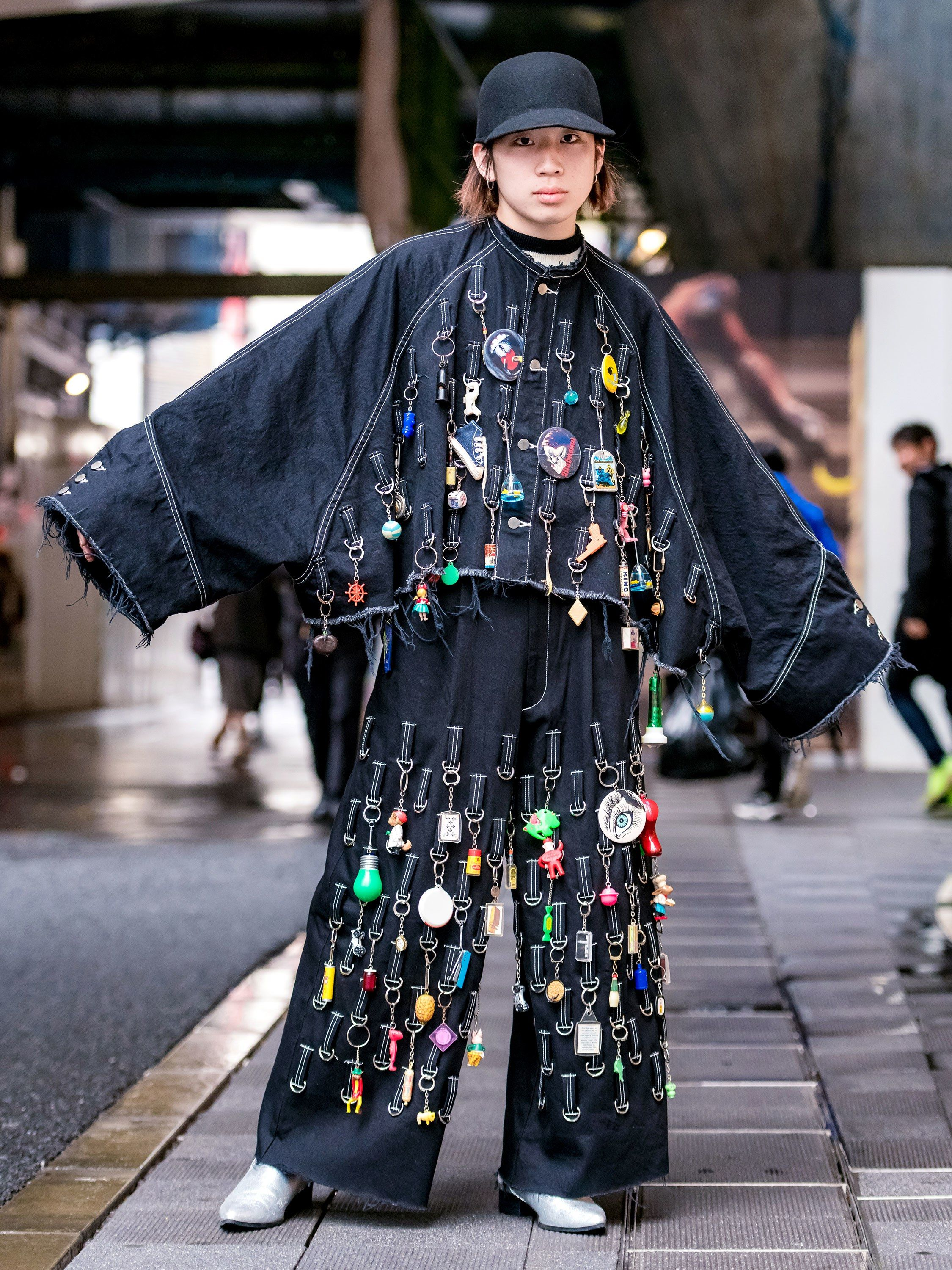 97154beb8ee6 The Best Street Style From Tokyo Fashion Week Fall 2018