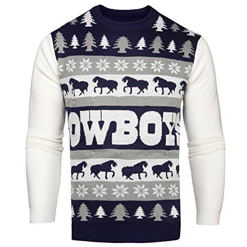Nfl Dallas Cowboys One Too Many Light Up Sweater Medium Https