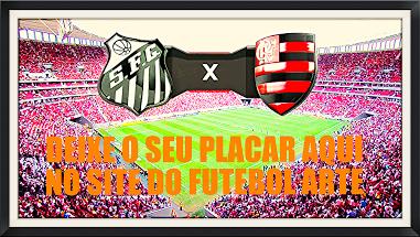 Santos joga com o Flamengo na Vila Famosa e tem tudo para vencer e se manter no G4, então deixe o seu placar aqui... http://futebolcomarte.wix.com/santos-futebol-arte#!seu-placar-para-santos-x-flamengo/c23ah participem !!!