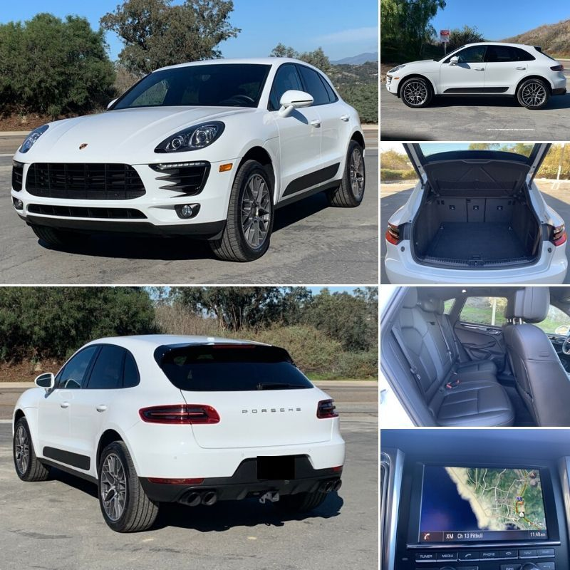 2015 Porsche Macan In White For Sale Autoland Inventory 62 417 Miles 3 0l V 6 Gas Turbocharged Mpg Up To 17 City Dream Cars Car Buying Porsche