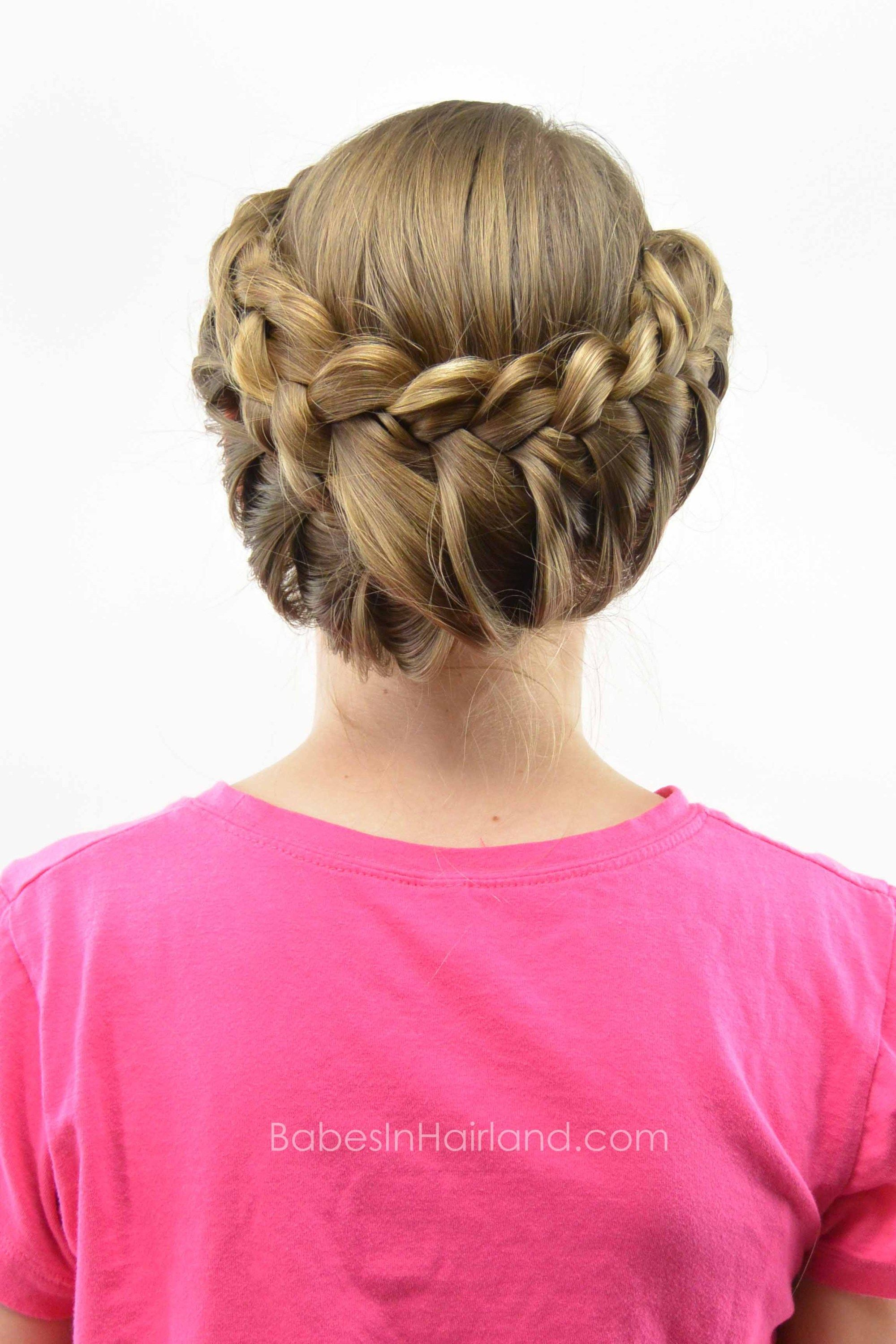 Lace Braid Updo | Trenza | Pinterest | Lace braid, Updo and Hair style