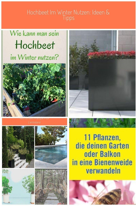 Wie Kann Man Sein Hochbeet Auch Im Winter Nutzen Entretien Du Jardin Hochbeet My Blog In 2020 Plants Garden Jardin