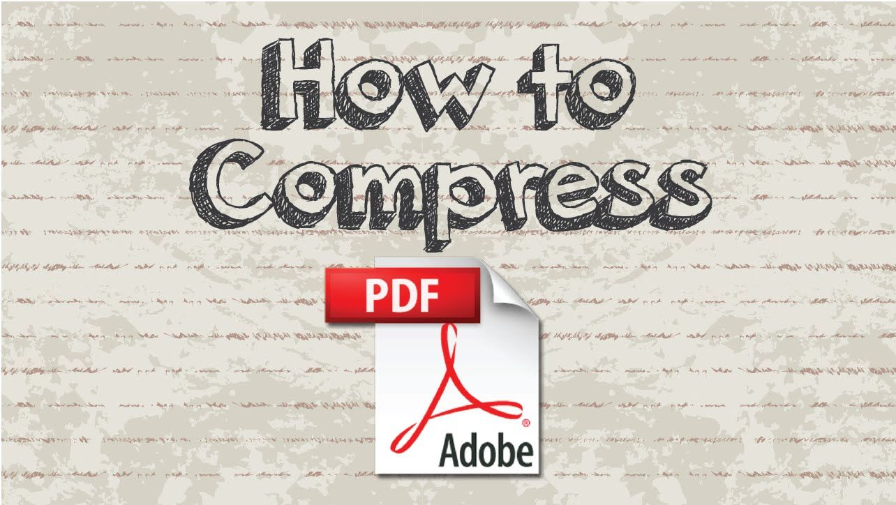 How to compress PDF into smaller file size #youtube #video #document