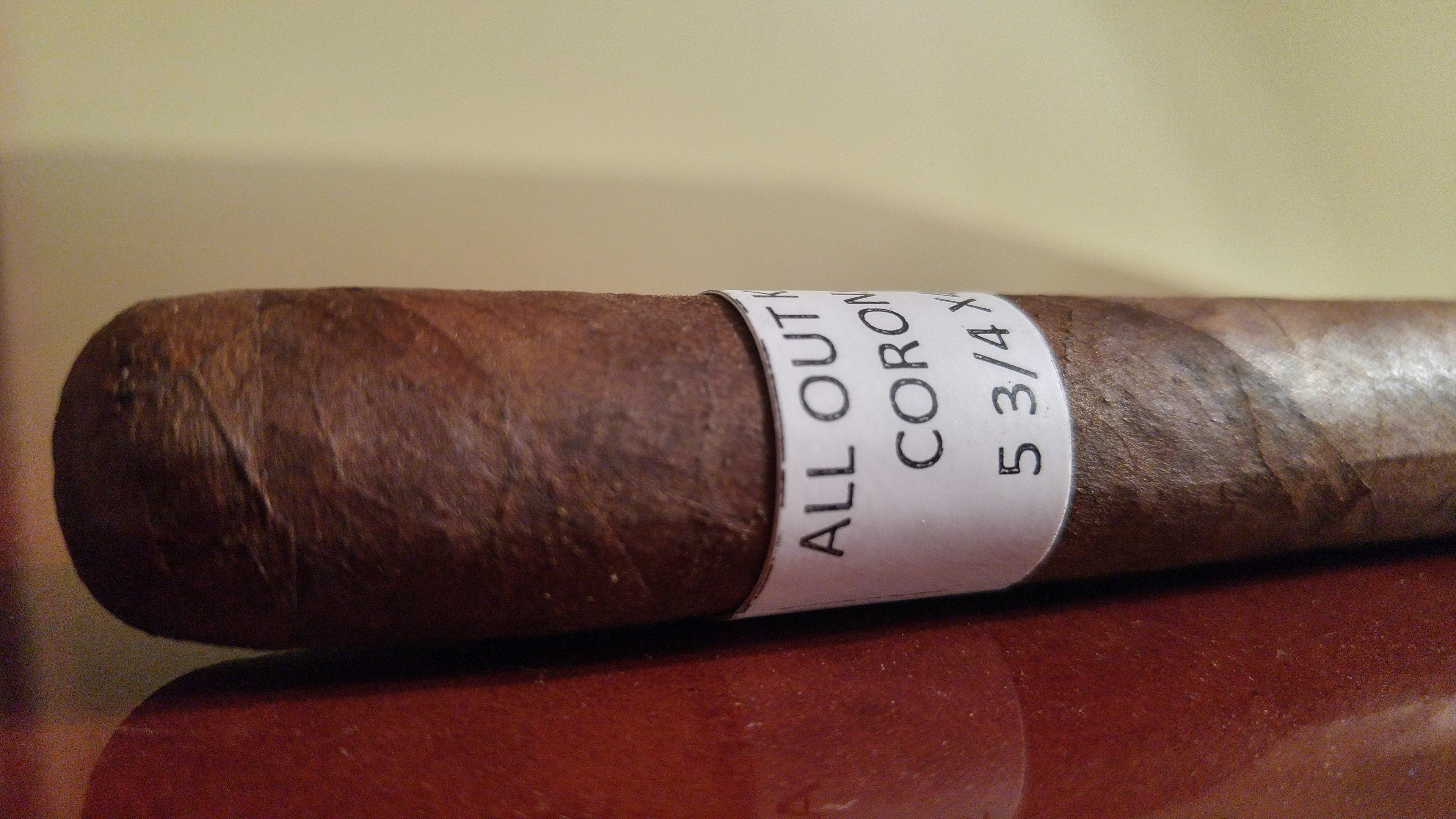 Quick Cigar Review: All Out Kings | Give Me Your Lunch Money