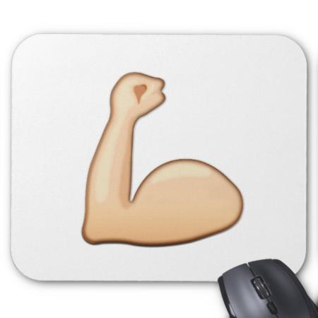 Flexed Biceps Emoji Emoji Biceps Bicep Muscle