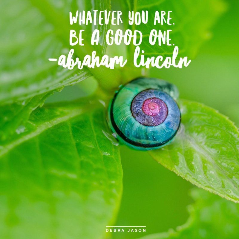 """Whatever you are, be a good one."" ~Abraham Lincoln #inspiration #quotes #professionalspeaker #author #marketing #marketingstrategy #marketingtips"