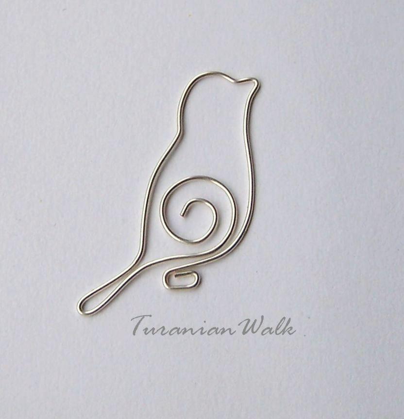 Bird wire bookmark pinteres bird wire bookmark wire art basic modelling bird design to make solutioingenieria Images