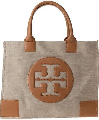 8985ae88f ShopStyle: HANDBAGS Tory Burch Ella Tote Gold Canvas | Favorite ...
